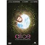 DVD Alice e o Novo País das Maravilhas
