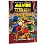 DVD Alvin e os Esquilos