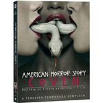 DVD - American Horror Story: Coven - História de Horror Americana: o Clã - a Terceira Temporada Completa (4 Discos)