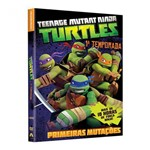 DVD - as Tartarugas Ninja - 1ª Temporada - Primeiras Mutações 04 Discos