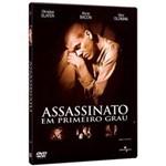 DVD Assassinato em Primeiro Grau