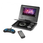 DVD Automotivo Portátil Multilaser Tela 7 Au710