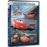 DVD - Aviões + Carros + Carros 2 (3 Discos)