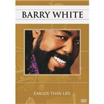 DVD Barry White - Larger Than Life