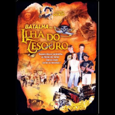DVD Batalha na Ilha do Tesouro