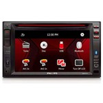 "DVD Ca Philips Ced-1500bt 6.2"" USB/sd/bt"