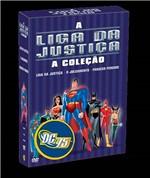 DVD Caixa Liga da Justiça (3 Dvds)
