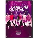 DVD + CD Fundo de Quintal - 40 Anos no Circo Voador
