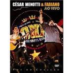 DVD César Menotti & Fabiano - Voz do Coração: ao Vivo