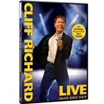 DVD Cliff Richards - Live Here And Now