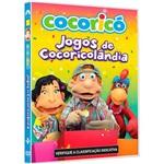 DVD - Cocoricó - Jogos de Cocoricolândia