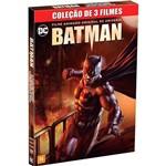 DVD - Coleção Batman: Filme Animado Original - 3 Filmes