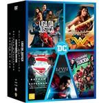 DVD - Coleção Dc Comics (5 Discos)