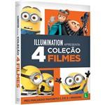 DVD - Coleção Meu Malvado Favorito 1-3 + Minions