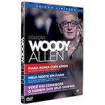 DVD - Coleção Woody Allen (3 Discos)