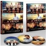 DVD Corajosos + a Virada + o Poder da Graça (3 DVDs)