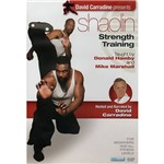 DVD David Carradine Presents: Shaolin Strength Training - Importado