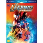 DVD - Dc Legends Of Tomorrow - Lendas do Amanhã - Segunda Temporada Completa