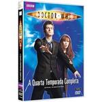 DVD - Doctor Who: a Quarta Temporada Completa (4 Discos)