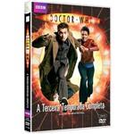 DVD - Doctor Who: a Terceira Temporada Completa (4 Discos)