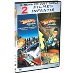 DVD DOSE DUPLA: Hot Wheels: a Velocidade do Silêncio + a Corrida Final