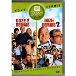 Dvd Duo (2 Dvds 2 Filmes) Doze é Demais + Doze é Demais 2
