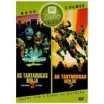 Dvd Duo Kids 2 Filmes as Tartarugas Ninja 2 e 3