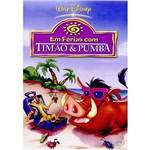 DVD em Férias com Timão e Pumba