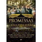 DVD Festival Promessas e Jesus Vida Verão