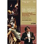 DVD Gaetano Donizetti - Don Pasquale - Orchestra e Coro Del Teatro Alla Scala (Importado)