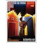 DVD Gilberto Gil - Fé na Festa - ao Vivo