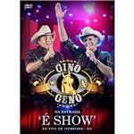 DVD Gino & Geno na Estrada: é Show