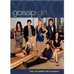 DVD Gossip Girl: The Complete Third Season- Importado - 5 DVDs