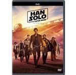 DVD Han Solo: uma História Star Wars