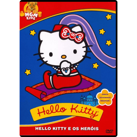 DVD Hello Kitty e os Heróis