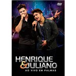 DVD - Henrique & Juliano: ao Vivo em Palmas