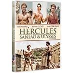DVD - Hércules, Sansão e Ulysses