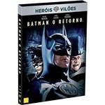 DVD Heróis Vs Vilões: Batman o Retorno