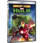 DVD - Homem de Ferro - Hulk: Super-Heróis Unidos