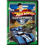 Dvd Hot Wheels Battle Force 5 - 1ª Temporada - Volume 4