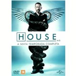 Dvd - House - 6ª Temporada (6 Discos)