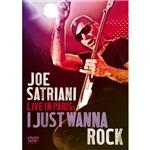 DVD Joe Satriani Live In Paris: I Just Wanna Rock