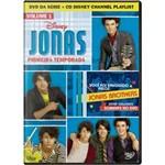 DVD Jonas 1ª Temporada - Volume 1 + CD Channel Playlist