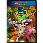 DVD Lego DC Comics Super Heróis: Liga da Justiça - Revolta em Gothamfilme Animado Original