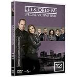 DVD - Lei & Ordem - Special Victims Unit - Ano Doze - Temporada 2010 / 11 (5 Discos)