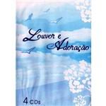 Dvd Louvor e Adoração - 4 Dvds
