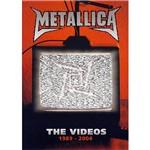 DVD Metallica - The Videos 1989-2004