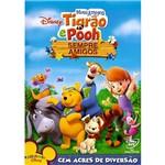 DVD Meus Amigos Tigrão e Pooh - Sempre Amigos