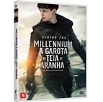DVD Millennium: a Garota na Teia de Aranha