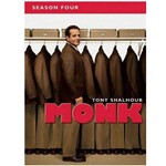 DVD Monk 4ª Temporada (4 DVDs)